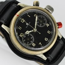 Tutima Military 38mm Black Arabic numerals