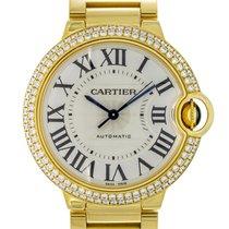 Cartier Ballon Bleu 36mm gebraucht 36mm Silber Gelbgold