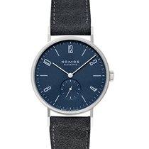 NOMOS Tangente 38 new Manual winding Watch with original box and original papers 166