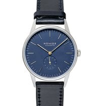 NOMOS Orion 38 Steel 38mm Blue