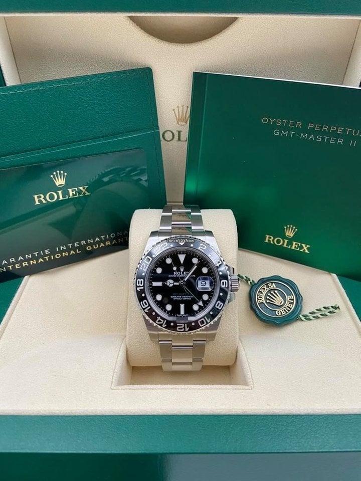 Rolex GMT-Master II 116710LN 2020 new
