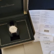 Jaeger-LeCoultre Geophysic True Second Steel 39.6mm Silver No numerals