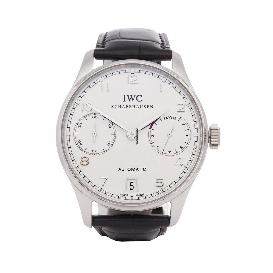 IWC Portuguese Automatic IW500104 2010 подержанные