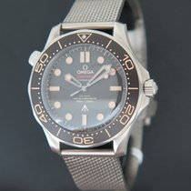 Omega 21090422001001 Титан 2020 Seamaster Diver 300 M 42mm новые