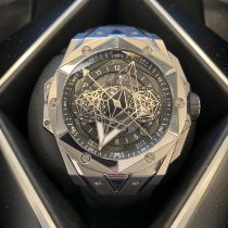 Hublot Big Bang Sang Bleu Titanio 45mm Negro