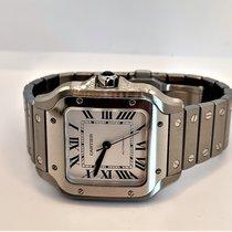 Cartier Santos (submodel) Сталь Cеребро Римские