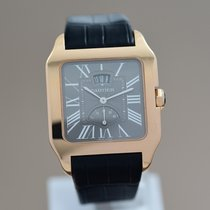 Cartier W2020068 Rose gold 2014 Santos Dumont 38mm pre-owned
