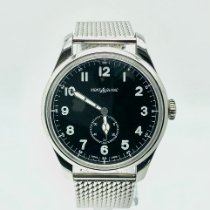 Montblanc pre-owned Automatic 44mm Black Sapphire crystal 3 ATM
