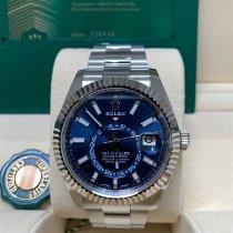 Rolex Sky-Dweller Steel 42mm Blue No numerals United Kingdom, Colchester