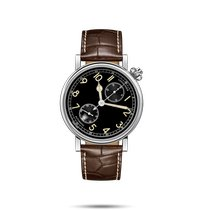 Longines Avigation Steel 41mm Black Arabic numerals United States of America, New York, Bellmore