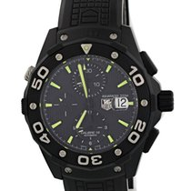 TAG Heuer Aquaracer 500M pre-owned 44mm Black Rubber
