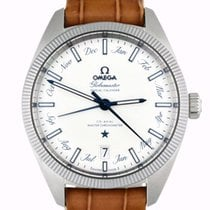 Omega Globemaster Steel 41mm Silver No numerals United States of America, Georgia, Atlanta