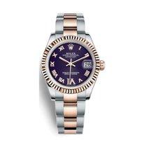 Rolex Lady-Datejust 178271 Новые Pозовое золото 31mm Автоподзавод