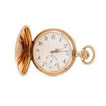 IWC Uhr gebraucht 1899 Gelbgold 55mm Arabisch Handaufzug Nur Uhr