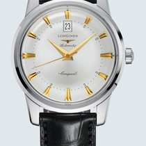 Longines Conquest Heritage Steel 40mm Silver No numerals United States of America, New York, Bellmore