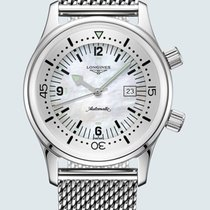 Longines Legend Diver Steel 36mm Mother of pearl Arabic numerals United States of America, New York, Bellmore