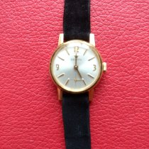 Zenith New Vintage 1965 Żółte złoto 20mm Masa perłowa