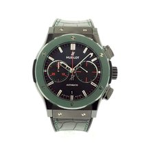 Hublot Classic Fusion Chronograph pre-owned 45mm Black Steel