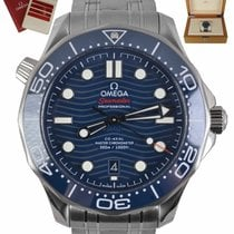 Omega Seamaster Diver 300 M Steel 42mm Blue United States of America, New York, Smithtown