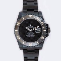 Rolex Cerámica Automático Negro Sin cifras 40mm usados Submariner Date