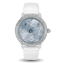 Blancpain Women White gold 36.8mm Mother of pearl