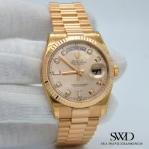 Rolex Day-Date 36 Rose gold 36mm Pink United States of America, New York, New York