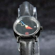 Alain Silberstein xxx/500 Limited Edition Very good Steel 22mm Automatic