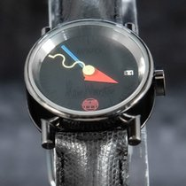 Alain Silberstein pre-owned Automatic 22mm Black Sapphire crystal