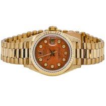 Rolex Lady-Datejust 26mm Oранжевый