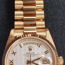Rolex 18038 Yellow gold 1988 Day-Date 36 36mm pre-owned United States of America, Texas, El Paso