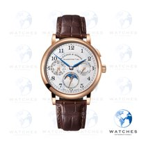 A. Lange & Söhne 1815 Rose gold 40mm Silver Arabic numerals United States of America, New York, New York