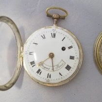 Breguet Silver Manual winding White Roman numerals 50mm pre-owned