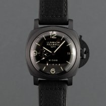 Panerai Luminor 1950 10 Days GMT Ceramic 44mm Black Arabic numerals