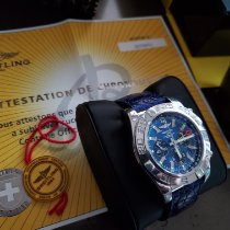 Breitling Chronomat GMT Steel 47mm Blue No numerals United States of America, New Jersey, Short Hills