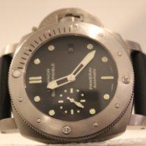 Panerai Luminor Submersible 1950 3 Days Automatic Titanium 47mm Black No numerals United States of America, New York, New York