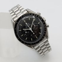 Omega Speedmaster Professional Moonwatch Сталь 42mm Черный Без цифр