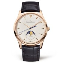 Jaeger-LeCoultre Master Ultra Thin Moon Roségold 39mm Champagnerfarben Keine Ziffern