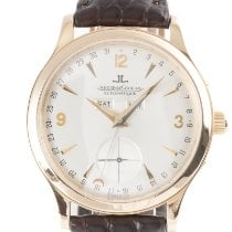 Jaeger-LeCoultre Master Calendar Red gold 37mm Silver