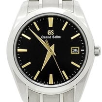 Seiko Grand Seiko Titanium 37mm Black No numerals