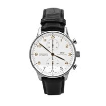 IWC Portuguese Chronograph Steel 41mm Silver Arabic numerals United States of America, New York, New York
