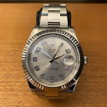 Rolex Datejust II Acier 41mm Argent Arabes France, MARTIGNARGUES