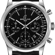 Breitling Transocean Chronograph new Automatic Watch with original box and original papers AB015212-BA99