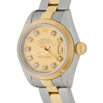 Rolex Oyster Perpetual Lady Date Steel 25mm Champagne No numerals United States of America, Texas, Dallas