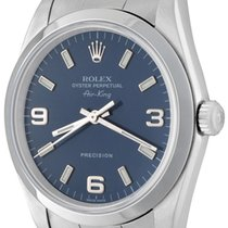 Rolex Air King Precision Steel 33mm Blue No numerals United States of America, Texas, Dallas