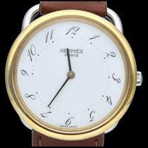 Hermès AR5.710 Gold/Steel Arceau 33mm pre-owned