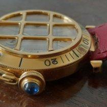 Cartier Gelbgold Automatik Weiß 38mm gebraucht Pasha