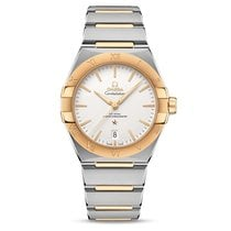 Omega 131.20.39.20.02.002 Gold/Steel Constellation 39mm new