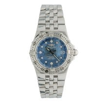 Breitling Starliner Steel 30mm Blue No numerals