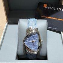 Hamilton Ventura Acier 32,00mm Bleu France, Aix en provence