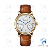 A. Lange & Söhne Yellow gold Manual winding Silver new 1815